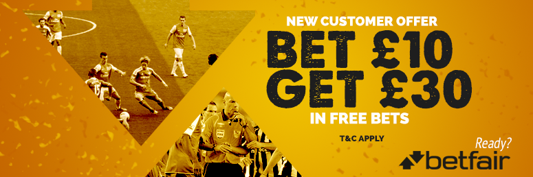 Betfair Bookmaker Free Bets and Sign Up Offers | Football