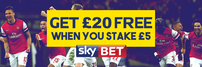 Sky Bet Free bets and Sign Up Offers | Football Tips Today